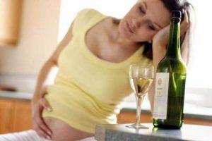 алкогольное отравление при беременности